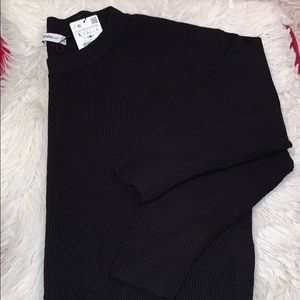 Zara knitwear black sweater